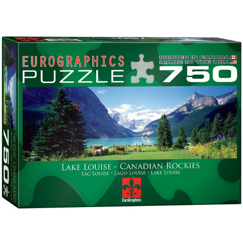 Lake Louise - Canadian Rockies - 750 Piece Jigsaw Puzzle