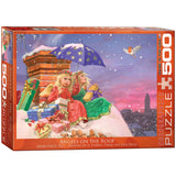 Angels on the Roof - 500 Piece Jigsaw Puzzle - Games2Puzzles