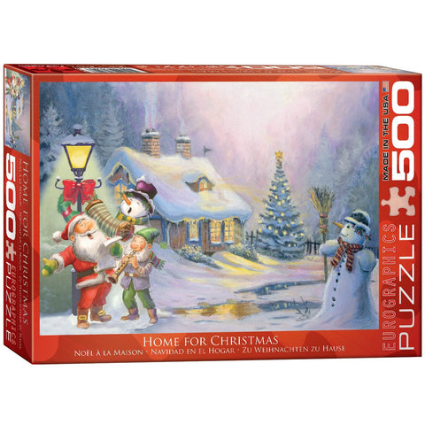 Home for Christmas - 500 Piece Jigsaw Puzzle