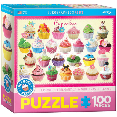 Cupcakes - 100 Piece Jigsaw Puzzle