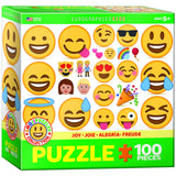 Emoji Joy - 100 Piece Jigsaw Puzzle