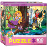 Day in the Forest - 100 Piece Jigsaw Puzzle