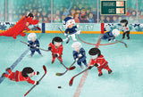 Junior League - Hockey - 60 Piece Jigsaw Puzzle