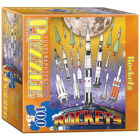 Rockets - 100 Piece Jigsaw Puzzle