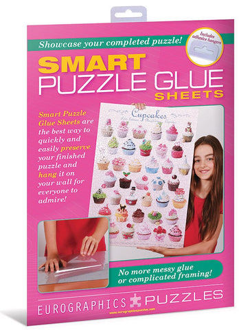Smart Jigsaw Puzzle Glue Sheets