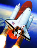 Space Shuttle Atlantis - 100 Piece Mini Jigsaw Puzzle