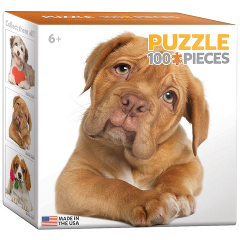Puppy - 100 Piece Mini Jigsaw Puzzle