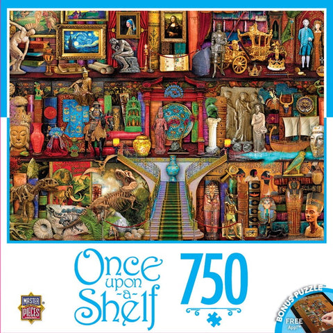 Once Upon a Shelf - Treasured History - 750 Piece Jigsaw Puzzle