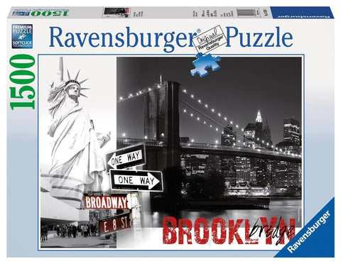 Brooklyn Bridge - 1500 Piece Jigsaw Puzzle