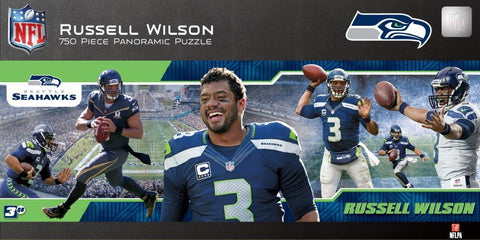 NFL Seattle Seahawks - Russell Wilson - 750 Piece Jigsaw Puzzle