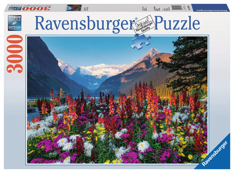 Flowery Mountains - 3000 Piece Jigsaw Puzzle