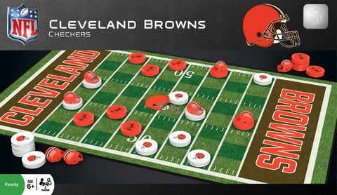 NFL Checkers Game - Cleveland Browns
