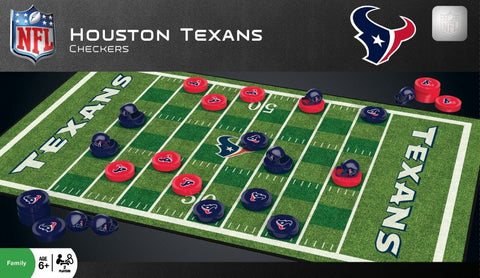 NFL Checkers Game - Houston Texans