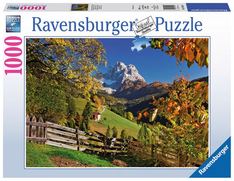 Mountainous Italy - 1000 Piece Jigsaw Puzzle