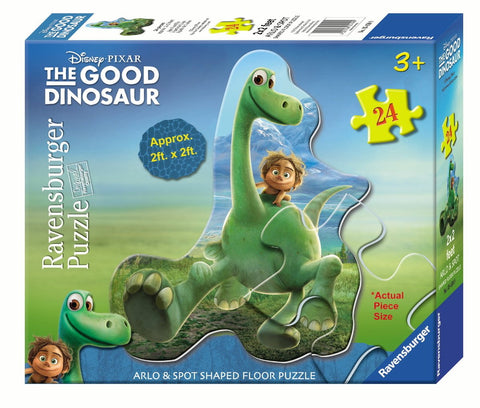 Disney The Good Dinosaur - Arlo & Spot - 24 Piece Shaped Floor Jigsaw Puzzle