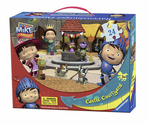 Mike the Knight - Castle Courtyard - 24 Piece Floor Jigsaw Puzzle