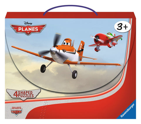 Disney Planes - In the Air - 10, 12, 14, 16 Piece Shaped Jigsaw Puzzles