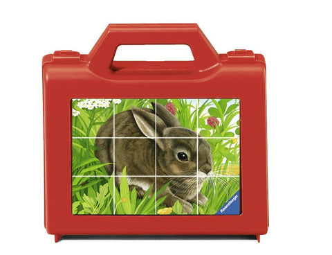 Animals - 12 Piece Cube Jigsaw Puzzle