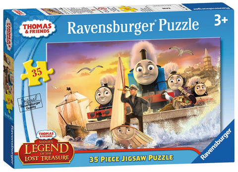Thomas & Friends - Sodor's Legend of the Lost Treasure - 35 Piece Jigsaw Puzzle