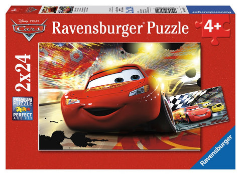Disney Pixar Cars - Cars Grand Entrance - (2 x 24) Piece Jigsaw Puzzles