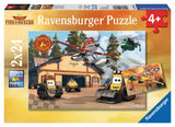 Disney Pixar Planes Fire & Rescue - Always in Action - (2 x 24) Piece Jigsaw Puzzles