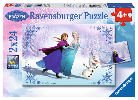 Disney Frozen - Sisters Always - (2 x 24) Piece Jigsaw Puzzles