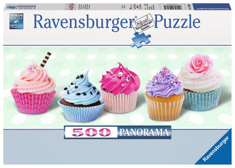 Sugary Sweet Cupcakes - 500 Piece Jigsaw Puzzle