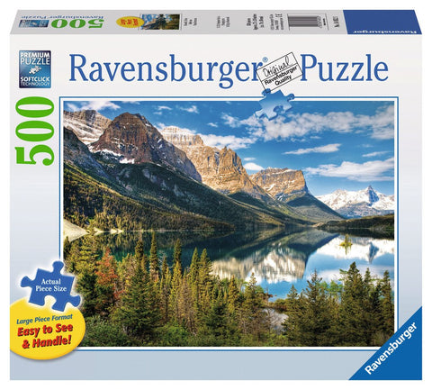 Beautiful Vista - 500 Large Piece Jigsaw Puzzle - Games2Puzzles