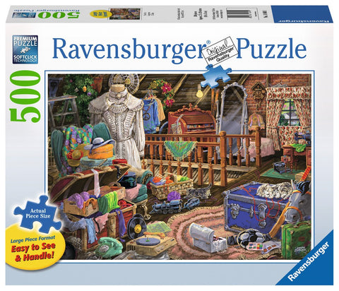 The Attic - 500 Large Piece Jigsaw Puzzle