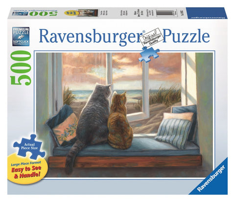 Window Buddies - 500 Large Piece Jigsaw Puzzle