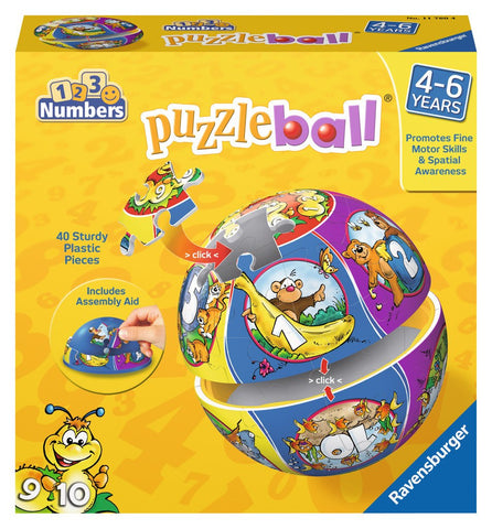 Numbers - 40 Piece 3D Jigsaw Puzzle