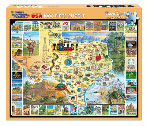 The Best of Texas - 1000 Piece Jigsaw Puzzle