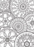 Mandala Collage - 500 Piece Coloring Jigsaw Puzzle