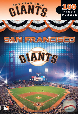MLB San Francisco Giants - 100 Piece Jigsaw Puzzle