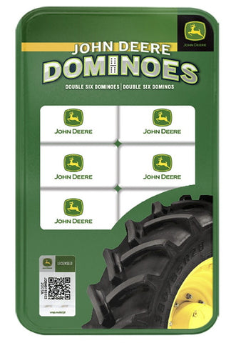 John Deere Dominoes Game