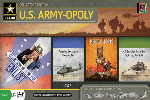U.S. Army-opoly - Monopoly Board Game