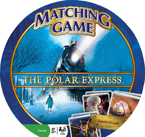 The Polar Express Matching Memory Game