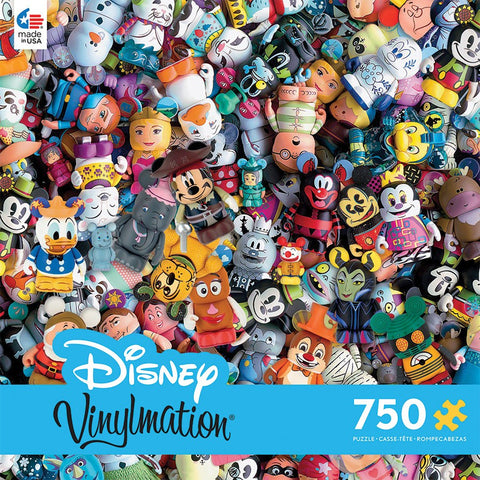 Disney Vinylmation - 750 Piece Jigsaw Puzzle