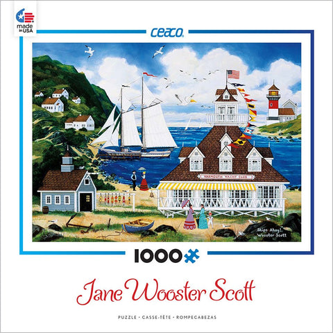 Ships Ahoy - 1000 Piece Jigsaw Puzzle