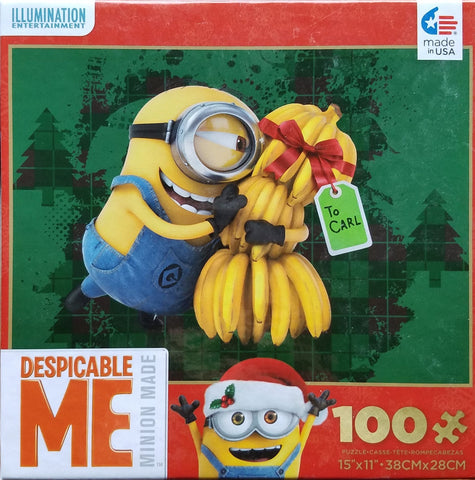 Despicable Me - Minions Banana Tree - 100 Piece Jigsaw Puzzle