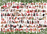 Holiday Dogs - 1000 Piece Jigsaw Puzzle