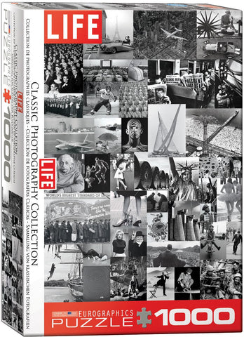 Life Magazine - Classic Photography Collection - 1000 Piece Jigsaw Puzzle
