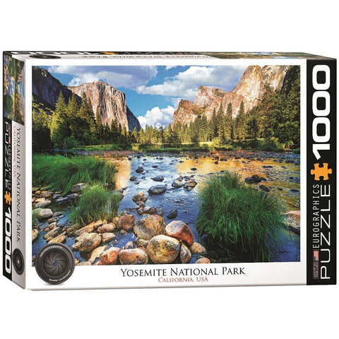 Yosemite National Park California - 1000 Piece Jigsaw Puzzle