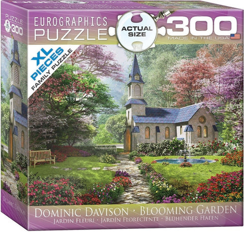 Blooming Garden - 300 Large Piece Jigsaw Puzzle