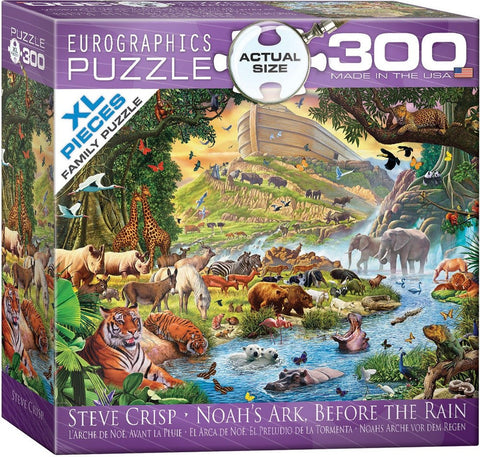 Noah's Ark Before the Rain - 300 Large Piece Jigsaw Puzzle