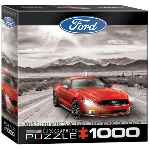 2015 Ford Mustang GT -Fifty Years of Power - 1000 Piece Jigsaw Puzzle