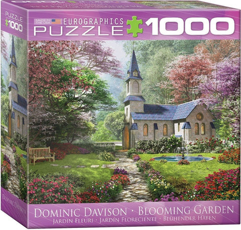 Blooming Garden - 1000 Piece Jigsaw Puzzle
