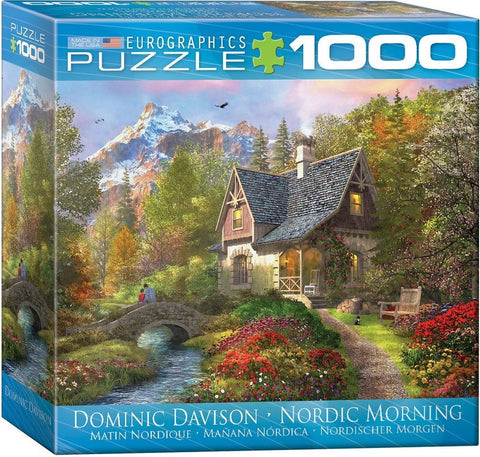 Nordic Morning - 1000 Piece Jigsaw Puzzle