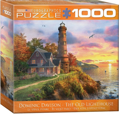 The Old Lighthouse - 1000 Piece Jigsaw Puzzle