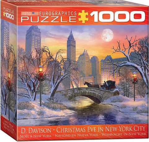 Christmas Eve in New York City - 1000 Piece Jigsaw Puzzle